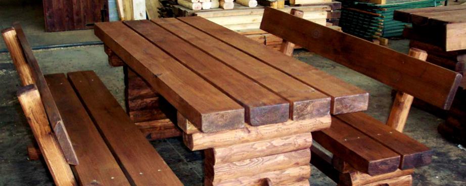 Tavoli Da Esterno Per Montagna.Segheria Valle Sacra Materiali Castagno